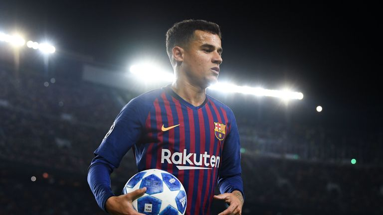 Philippe Coutinho has been linked with Manchester United