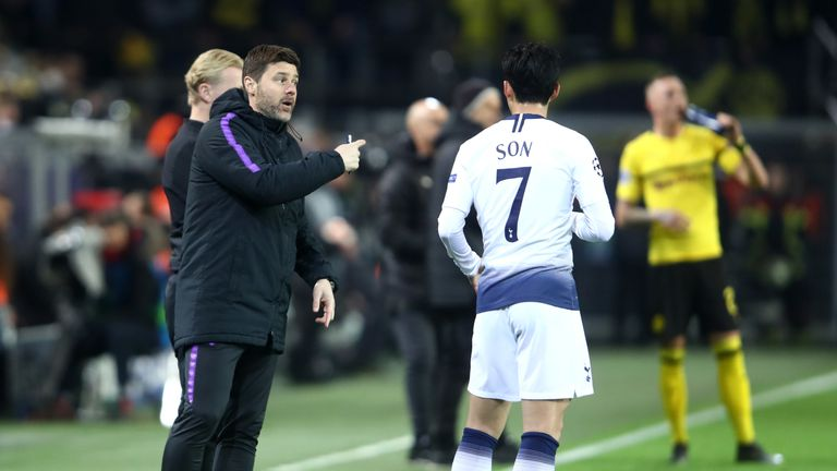 """Pochettino wants Spurs to reach the """"next level""""."""