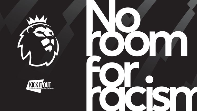 The Premier League launched the No Room for Racism campaign in March