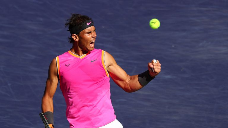 d1306c5535fc3 Rafael Nadal to face Roger Federer in semi-finals at Indian Wells ...