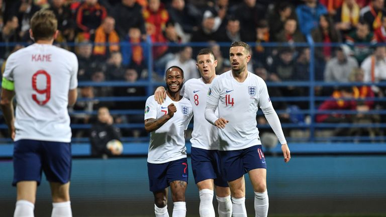England were in superb form to beat Montenegro 5-1 in Podgorica