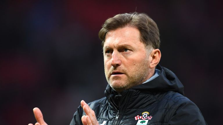 Ralph Hasenhuttl's side are two points above the bottom three with eight games to play