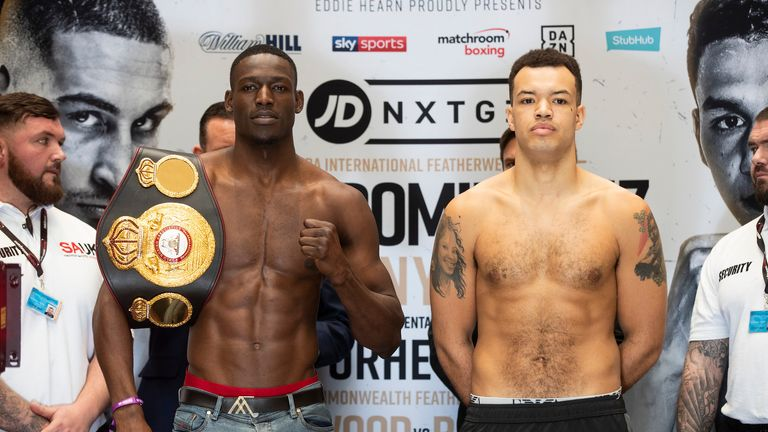 Richard Riakporhe takes on Tommy McCarthy at cruiserweight
