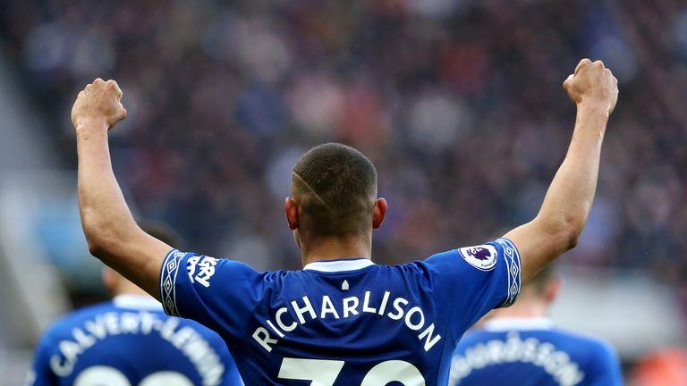 991338385 Martin Tyler s stats  Richarlison s impressive debut Everton season ...