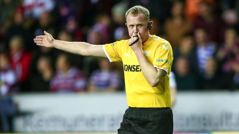 Robert Hicks has been named as this year's Challenge Cup final referee
