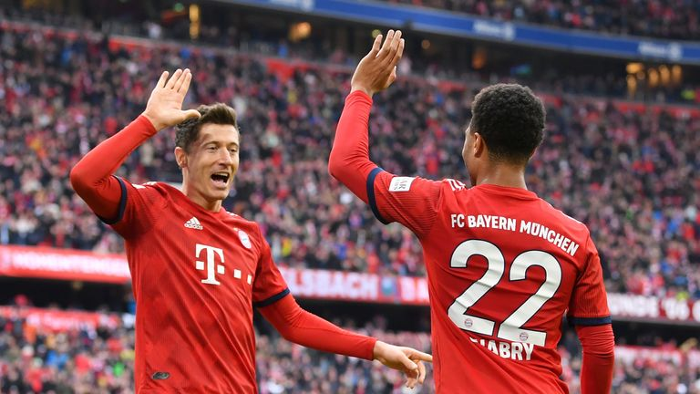 Bayern Munich tuned up for their clash with Liverpool with a 6-0 win against Wolfsburg at the weekend