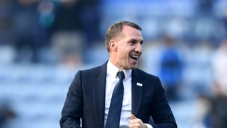 Leicester have won four games in a row under Brendan Rodgers, who took over at the King Power in February