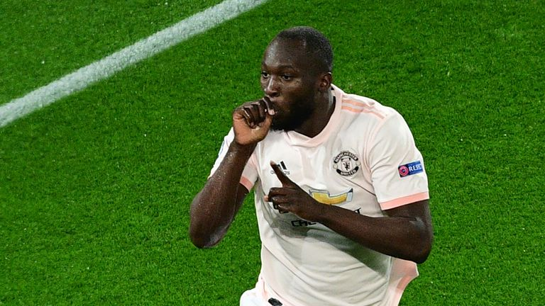 Romelu Lukaku could return from a foot injury for Man Utd