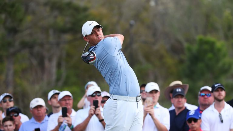 Rory McIlroy jumped two spots following Sunday's victory at TPC Sawgrass