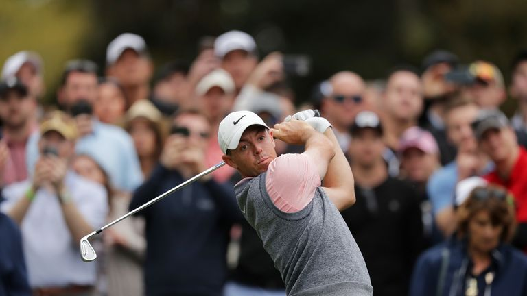 McIlroy bogeyed the first two holes before digging deep to fire a 70