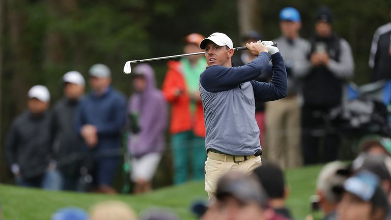 Rory McIlroy moved up to first on the FedExCup standings