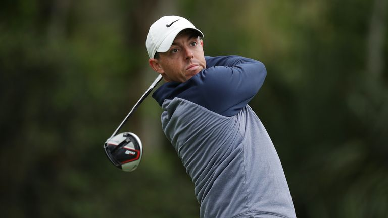 McIlroy went out with Jason Day in the penultimate group