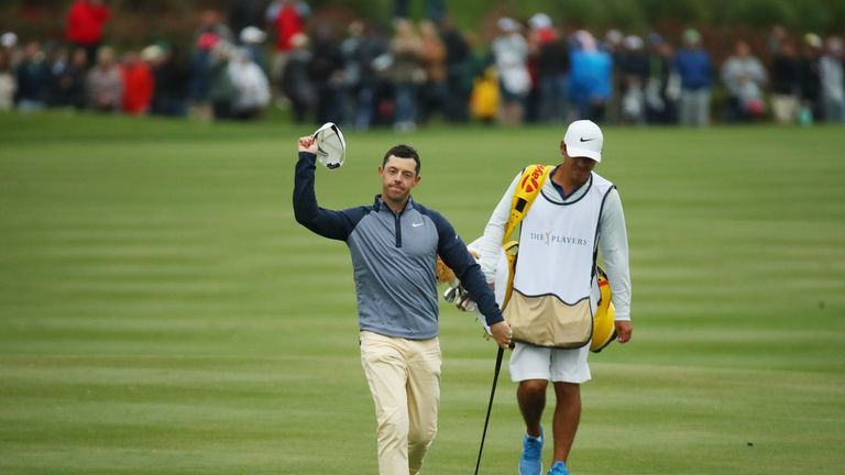 McIlroy's win moves him into the world's top five