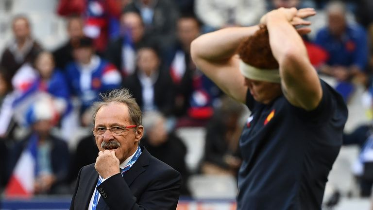 Pressure is growing on France head coach Jacques Brunel