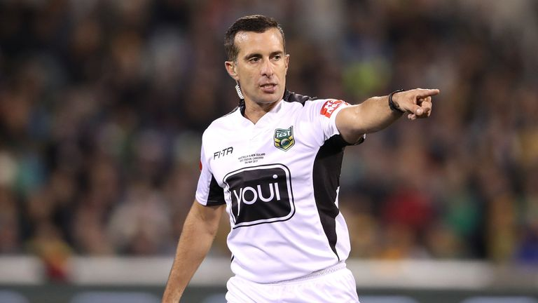 NRL referee Matt Cecchin has aborted plans to oversee a trial of the two-ref system