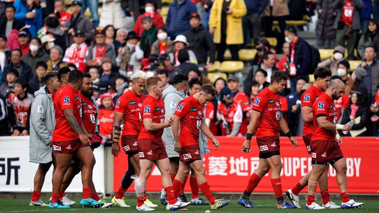 The Sunwolves are being axed from Super Rugby