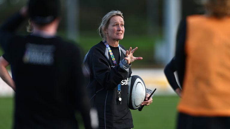 Wasps Giselle Mather chats to Sky Sports about what the current period has been like