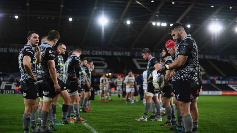 Initial discussions between the sides at meetings of the Professional Rugby Board indicated there was a willingness on both parties before Ospreys pulled out