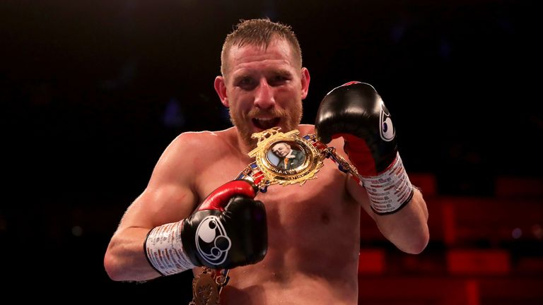 Ryan Walsh retained British belt after points win over Reece Bellotti