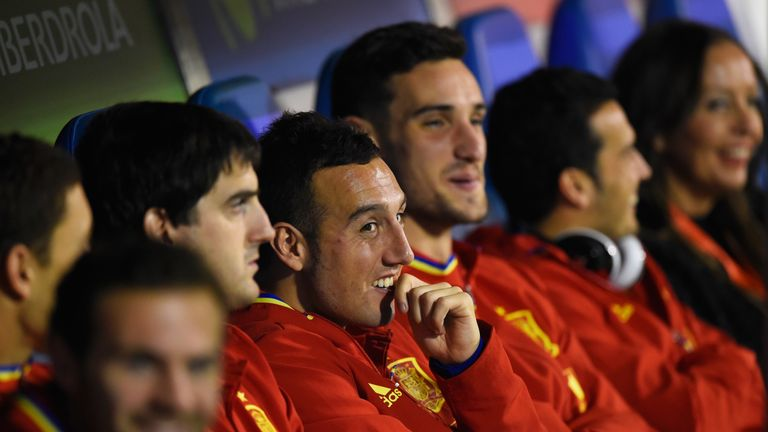 Santi Cazorla has been capped 77 times by Spain
