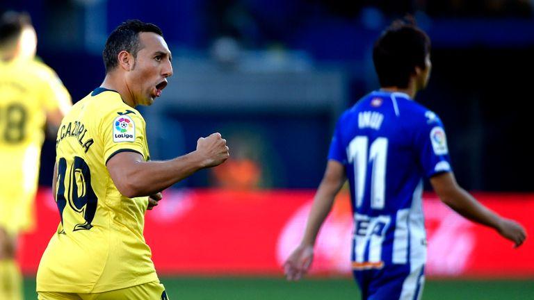 Santi Cazorla scored his sixth goal of the season on Saturday