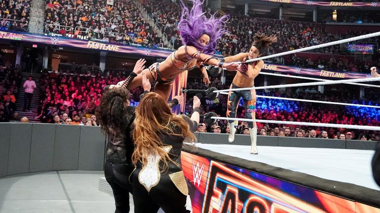 Nia Jax and Tamina look set to meet Beth Phoenix and Natalya next but what's the plan for the tag-team champions Sasha Banks and Bayley?