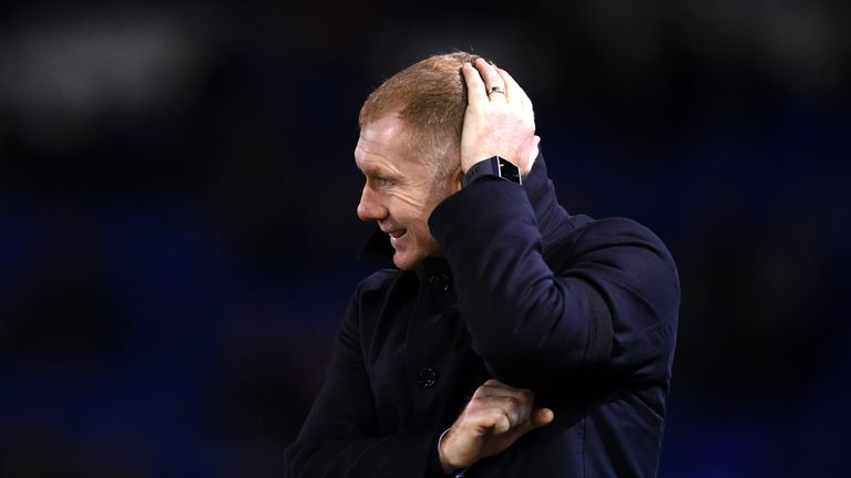 Paul Scholes was in charge for just seven games at Oldham