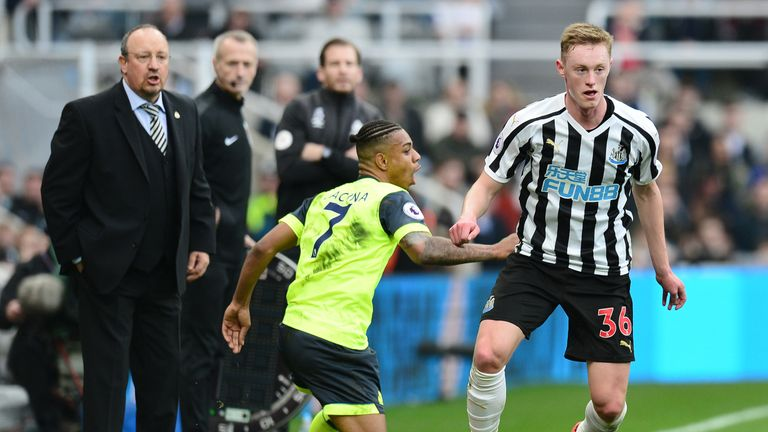 Newcastle's Sean Longstaff