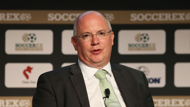 Bassini claimed to have texts from Former EFL chief executive Shaun Harvey