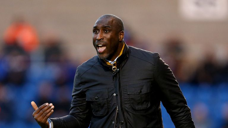 Sol Campbell has left Macclesfield by mutual consent
