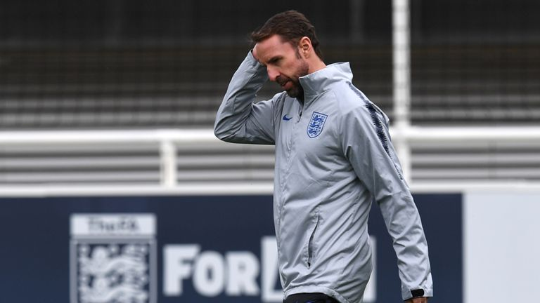 Southgate admits an all-English final complicates his Nations League plans