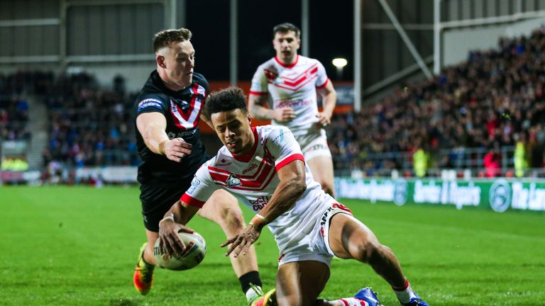 Regan Grace's converted try for St Helens forced golden-point extra-time away to the Broncos