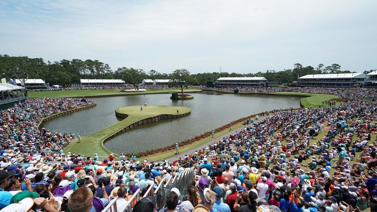 Wayne Riley says Sawgrass was designed to be a March golf course