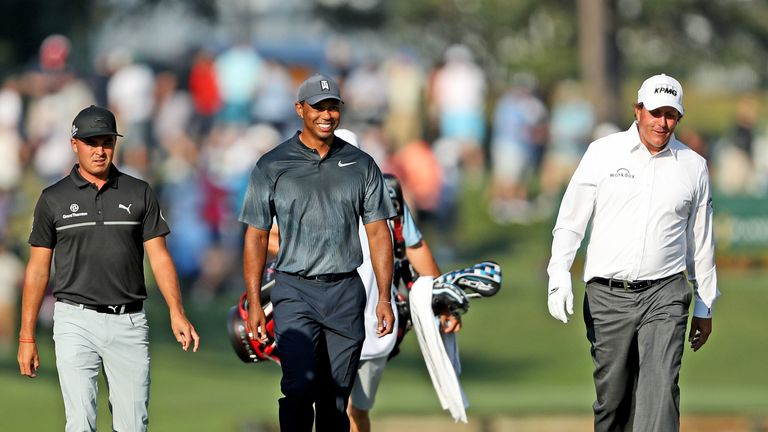 Tiger Woods is back in action at the Players Championship