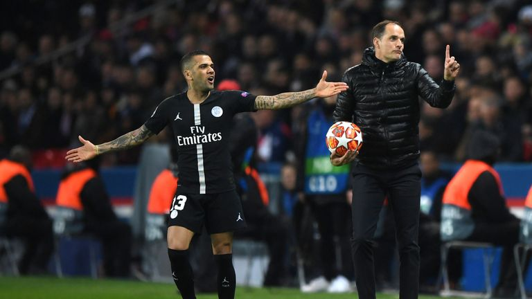 Tuchel replaced Unai Emery at the Parc des Princes in May