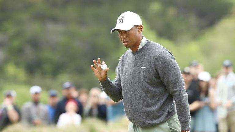 Woods is chasing a record fourth victory in this event