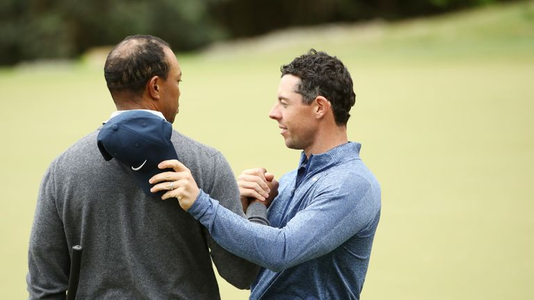 Woods defeated McIlroy 2&1 in the last-16