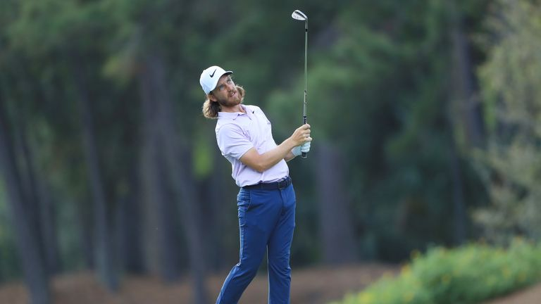 Fleetwood was four under after only three holes of his second round