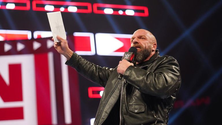 Triple H will retire from in-ring competition if he loses to Batista at WrestleMania