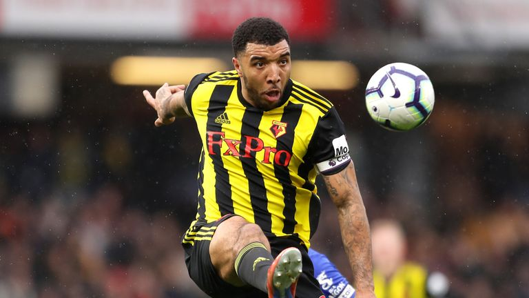 Watford striker Troy Deeney has nine Premier League goals this season