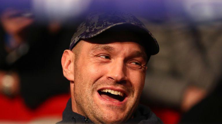 Former three-belt heavyweight champion Tyson Fury