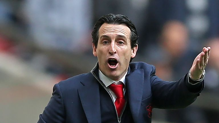 Unai Emery is challenging for a place in next season's Champions League on two fronts