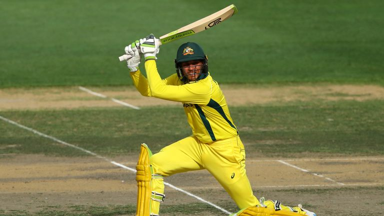 Usman Khawaja has impressed at the top of the order during Australia's eight-game winning streak