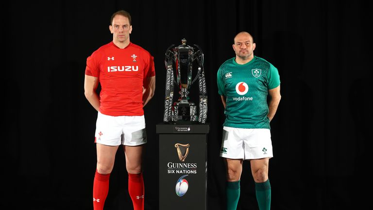Wales captain Alun Wyn Jones comes up against Ireland's Rory Best this weekend