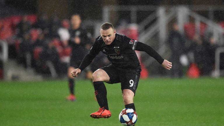 Wayne Rooney scored 12 in 19 in the MLS for DC United last season