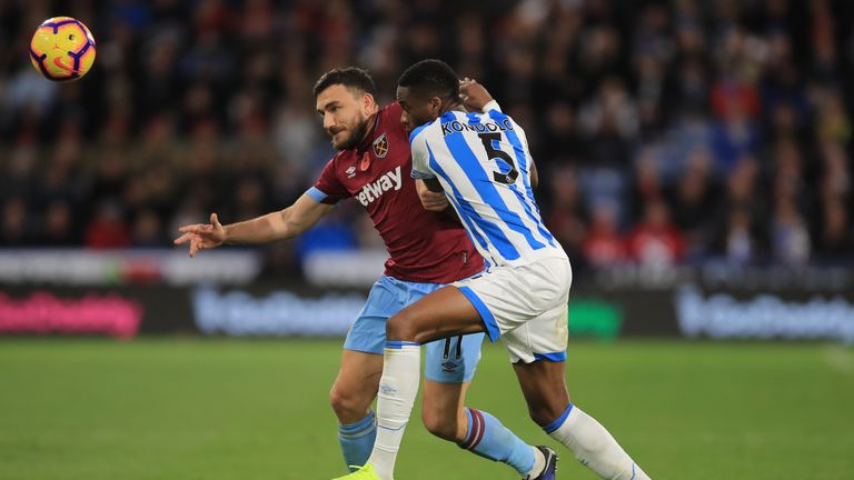 Robert Snodgrass and Terence Kongolo featured in the reverse fixture