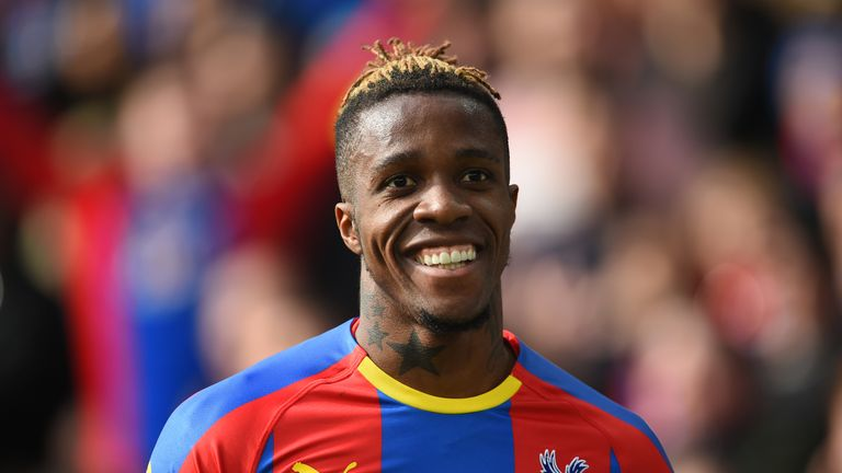 Wilfried Zaha will look to guide Crystal Palace into the FA Cup semi-finals