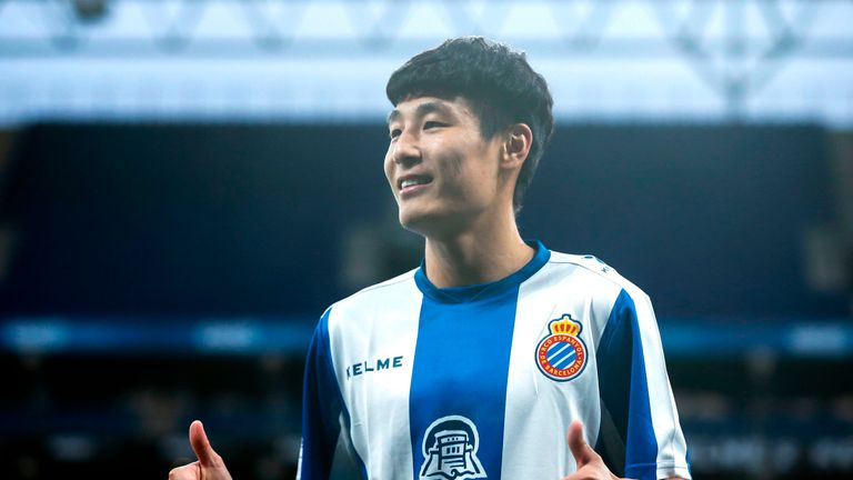 Wu has made an encouraging start with Espanyol