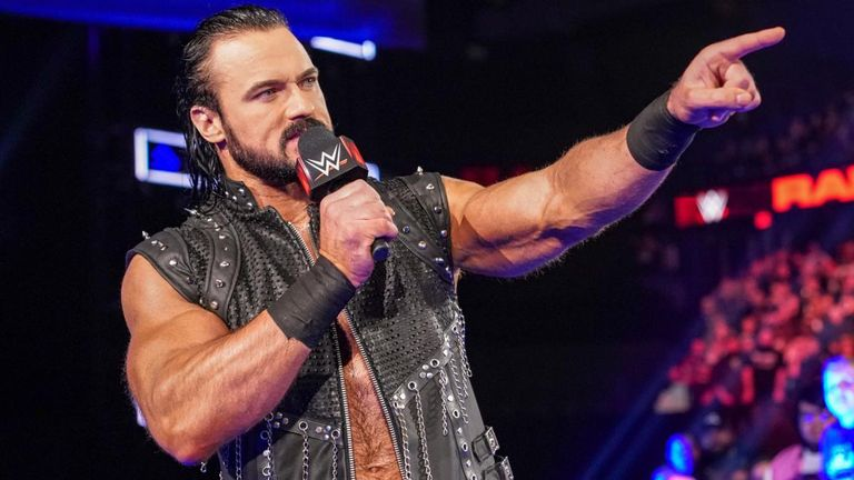 Drew McIntyre says WWE wrestlers love competing in front of British audiences