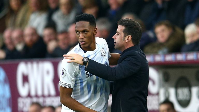Mina says Marco Silva leads by example with his relentless work ethic at Everton
